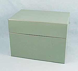 Ohio Art – File, Recipe/ Index Card Box (Image1)