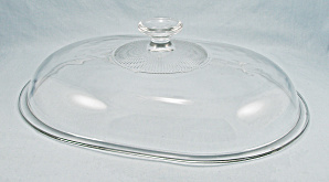 Pyrex V 34 C Clear Lid – Oval Domed (Image1)
