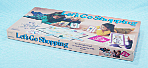 Let's Go Shopping Game, Pressman, 1990 (Image1)
