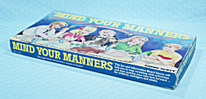 Mind Your Manners Game, Baron/Scott, 1986 (Image1)
