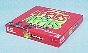 Apples To Apples, Party In A Box Game, Mattel Games, 2015, Nib