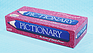 Pictionary Game, Milton Bradley, 2000