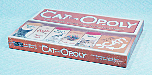 Cat-opoly Game, Late For The Sky. Nib