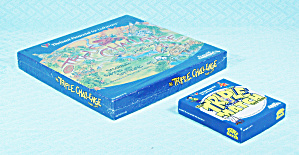The Triple Challenge Board Game, Nib And The Triple Match Card Game, 2001