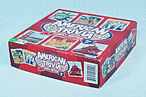 American Trivia, Family Edition Game, Outset, 2012