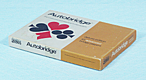 Autobridge, Deluxe Edition, Advanced, Parker Brothers, 1969