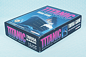 Titanic Historical Society Trivia Game, Talicor, 1998