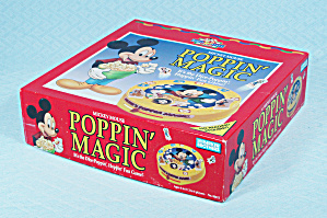 Mickey Mouse Poppin' Magic Game, Parker Brothers, 1991