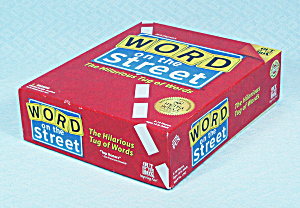 Word On The Street Game, Out Of The Box, 2011, Nib