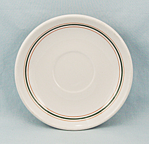 Three Lines Saucer, Syracuse China