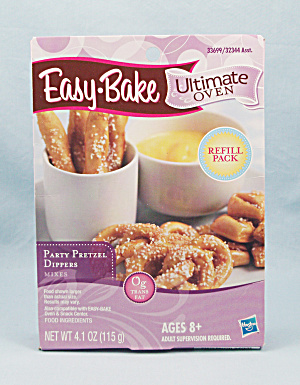 Easy-bake Ultimate Oven Party Pretzel Dippers Refill Pack, Nib