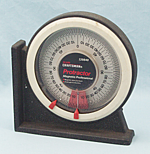Craftsman Magnetic Professional Protractor #9-39840