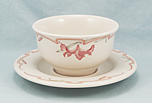 Melody By Homer Laughlin - Custard Cup & Liner