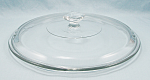 Anchor Hocking - Clear Glass Lid, Square Knob - 9-inches / Round