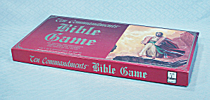 Ten Commandments Bible Game, Cadaco, 1988, Nib