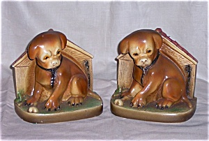 Chalk Dog Bookends (Image1)