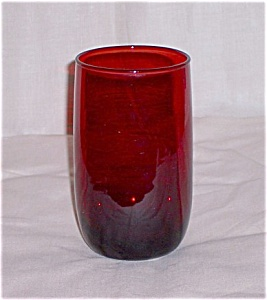 Royal Ruby Water Tumbler – Anchor Hocking (Image1)