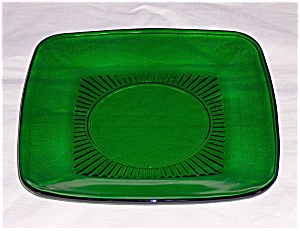 Forest Green Charm Luncheon Plate (Image1)
