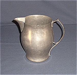 Benedict Pewter Pitcher