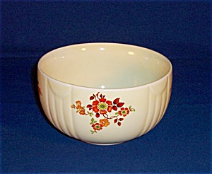 Hall Mixing Bowl �Flowers (Image1)