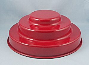 Three-tier Cake Mold - Red Pan