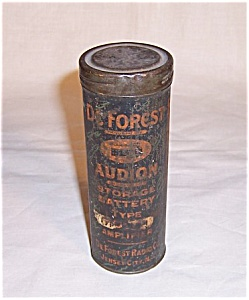Deforest Tube Tin - Advertising