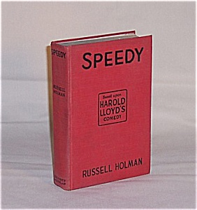 Book - Speedy  by Russell Holman 1928 (Image1)