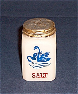 Blue Swans, Red Salt Shaker