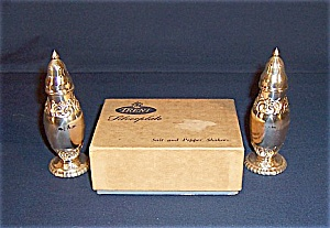 Shakers - Trent Silver Plate Salt & Pepper, In Box
