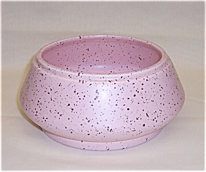 California Pottery � Pink Speckled Bowl - 1956 (Image1)
