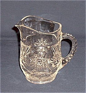 Anchor Hocking Glass Co. - Early American Prescut -pitcher