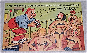 Curt Teich & Co., Inc. � COMIC POST CARD (Image1)