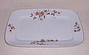 J & G  Meakin - Transfer Ware - Ironstone Platter (Image1)
