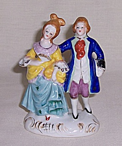 Occupied Japan Figurine Pair	 (Image1)