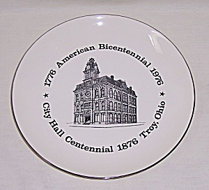 Troy Ohio Bicentennial - Collector Plate (Image1)