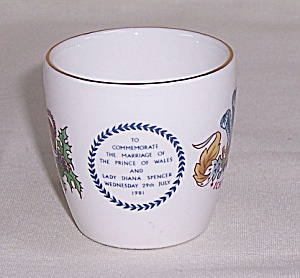 Wedgwood - Commemorate, Marriage 1981 - Charles & Diana