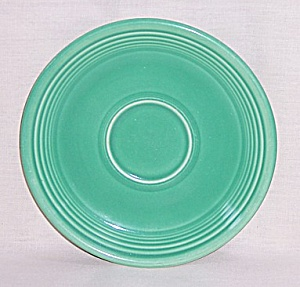 Vintage Fiesta Medium Green Saucer
