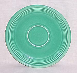 Vintage Fiesta Medium Green Saucer (Image1)
