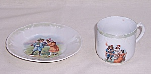Children't Dishes – Cup and Plate – German	 (Image1)