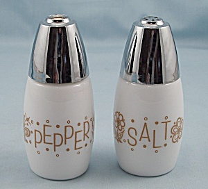 Gemco - Butterfly Gold- Salt & Pepper Shakers