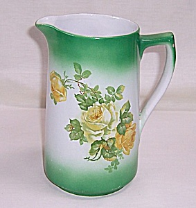Transfer Pitcher � Floral, Yellow Roses (Image1)
