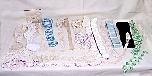 Vintage Sewing - Trim Remnants  # 1 (Image1)