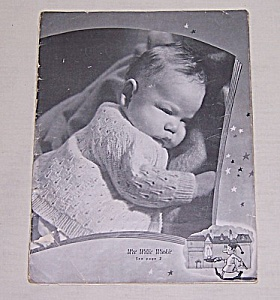 Undated  1940's Baby Book – Knitting/ Crocheted Baby Styles, For New Babies (Image1)