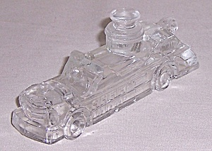 Figural Candy Container - Fire Engine Truck
