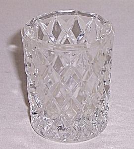 Diamond Pattern –  Glass Toothpick  Holder (Image1)