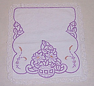 Embroidery On Linen - Small