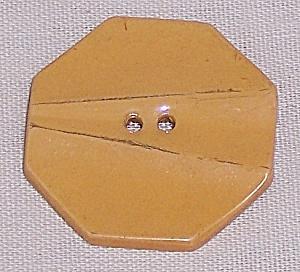 Large Butterscotch Bakelite Button (Image1)