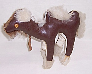 Stuffed - Camel - 1940's Toy