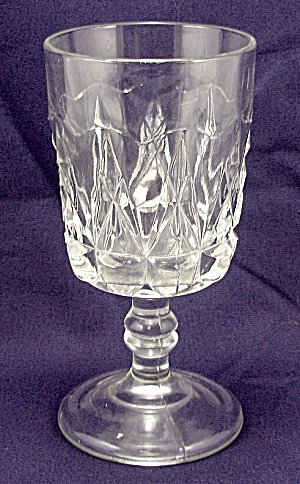 Eapg - Pointed Jewels - Goblet