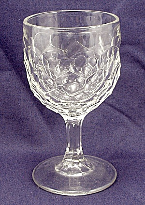 Eapg - Honeycomb - Wine Goblet